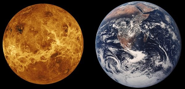 Какое место занимает земля от солнца